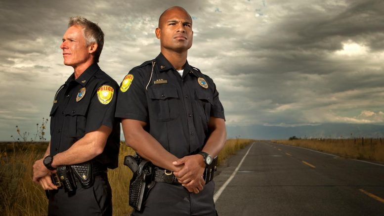 Policemen-Law-Enforcement-Road-Highway-Clouds